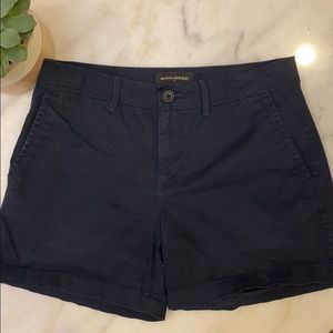 Banana Republic Blue Chino Shorts